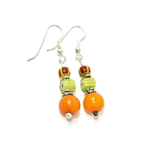 Trade Beads Earrings 14
