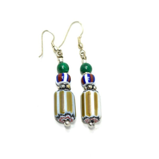 Trade Beads Earrings 15