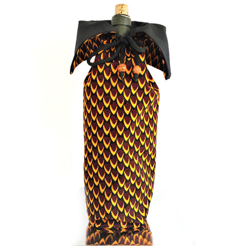 Wine Holder Kitenge 03