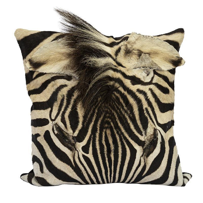 Zebra Full Hide Face Pillow