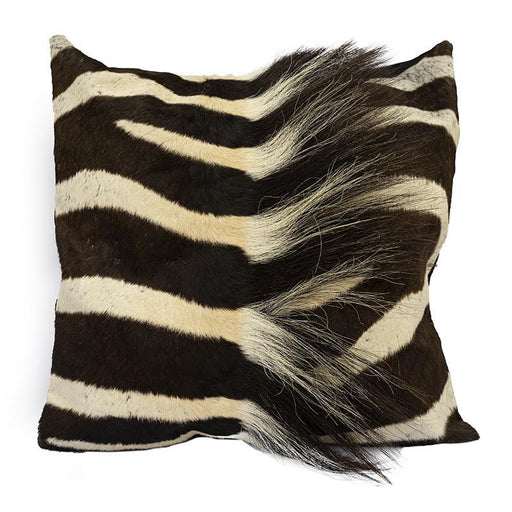 Zebra Hide Mane  Pillow