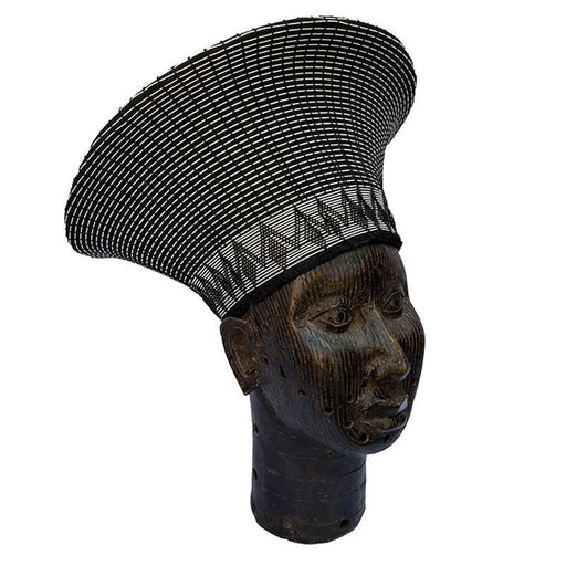 Zulu Wide Basket Hat - Black & White
