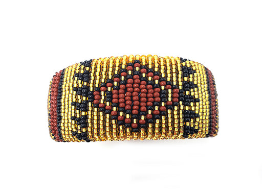 Zulu Beaded Cuff Bangle 13