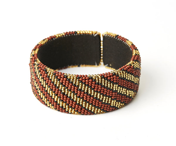 Zulu Beaded Cuff Bangle 14