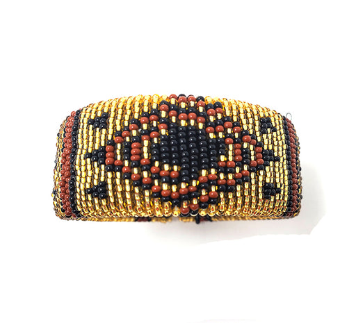Zulu Beaded Cuff Bangle 15