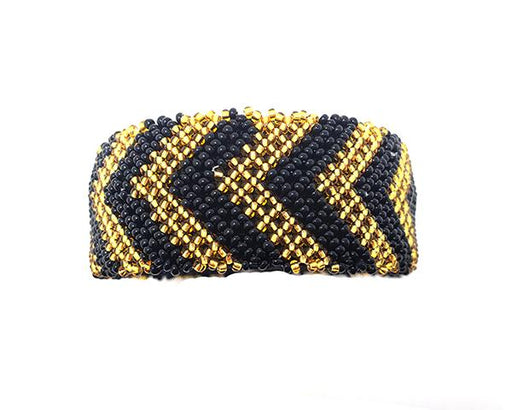 Zulu Beaded Cuff Bangle 18