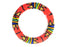 Zulu Beaded Disc Bangle Thick - Multiple colors