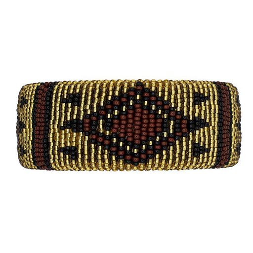 Zulu Beaded Cuff Bangle 09