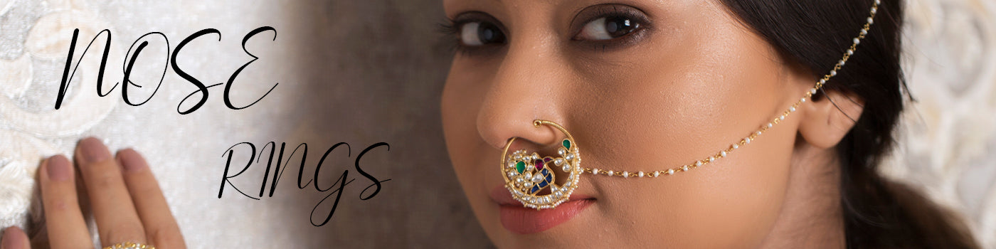 Gold Plated Nose Rings