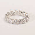 Zara Fancy Shape Swarovski Zirconia Band