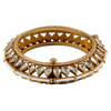 Anishtha Hinged Opening Kundan Bangle