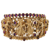 Prarthana Hinged Opening Bangle With Deity Motifs
