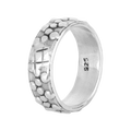 Lovely Lisa Classic Silver Band