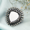 Aadya Mirror Silver Ring