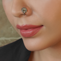 Kalapi Clip- On Silver Nose Pin