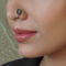 Bhavya Clip- On Silver Nose Pin
