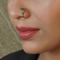 Pahi Clip- On Silver Nose Pin