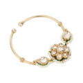 Kaya Gold Plated Kundan Silver Nose Ring