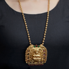 Suchi Gold Plated Necklace With Deity Motif