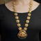 Padmini Gold Plated Necklace With Deity Motif