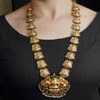 Sajal Gold Plated Necklace With Deity Motif