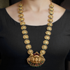 Mahima Gold Plated Necklace With Deity Motif