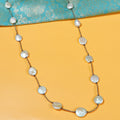Hazel Pearl Beads Necklace