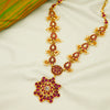 Blossom Pink 24k Gold Plated Silver Necklace