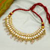 Divika 24k Gold Plated Kundan Necklace