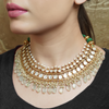 Divika Gold Plated Kundan Necklace