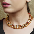 Aabha Gold Plated Necklace