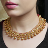 Subha Gold Plated Necklace