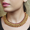 Sanjh Gold Plated Necklace