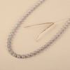 Sara Swarovski Zirconia Necklace