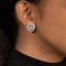 Bella Multi-Shaped Swarovski Zirconia Stud Earrings
