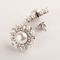 Inaaya Multi-Shaped Swarovski Zirconia Pearl Stud Earrings