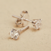 Lisa Classy Swarovski Zirconia Stud Earrings