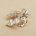 Hannah Swarovski Zirconia Stud Earrings