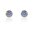 Jovia Silver Studs (2.95 gm) with Solitaire SZ