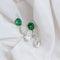 Silver Earrings with Mixed Shape Swarovski Zirconia