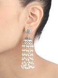 Piya Silver Earrings With Pearl