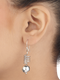 Avanya Sterling Silver Drop Earrings