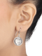 Royal Coin Sterling Silver Earrings