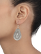 Inaaya Elegant Tribal Silver Earrings