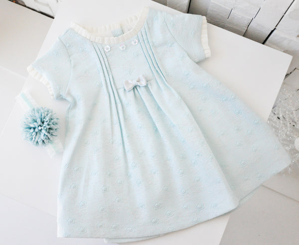 Cute Baby Doll Dress Sky Blue