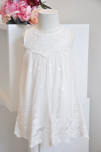 Fairy Lace Dress white