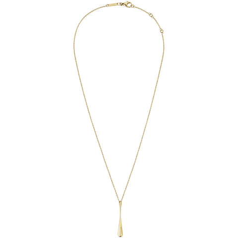 Calvin Klein Ellipse Gold Tone Necklace