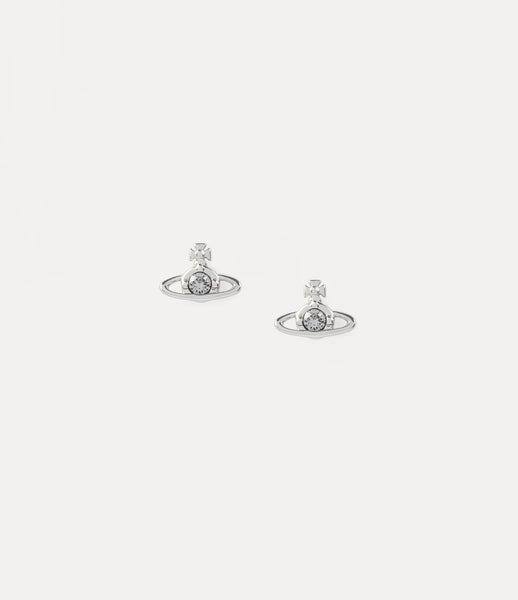 NEW- Vivienne Westwood Nano Solitaire Stud Earrings
