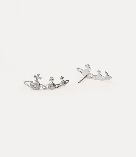 Vivienne Westwood Silver Tone Candy Earrings