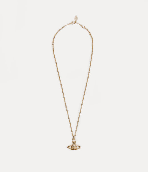 Vivienne Westwood Yellow Gold Mayfair Bas Relief Necklace